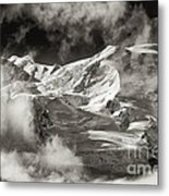 Mont Blanc Group Metal Print