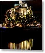 Mont Saint Michel At Night 1 Metal Print