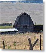 Montana Barn Metal Print