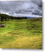 Montana Breeding Ground Metal Print