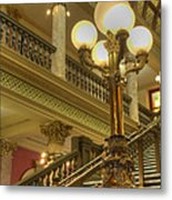 Montana State Capitol Metal Print