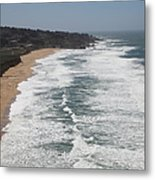 Montara State Beach Pacific Coast Highway California 5d22622 Metal Print by Wingsdomain Art and Photography