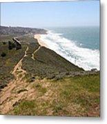 Montara State Beach Pacific Coast Highway California 5d22633 Metal Print