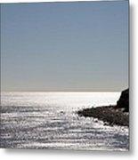 Montauk Beach And Bluff Metal Print