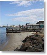 Montauk Port Long Island Metal Print