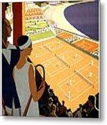 Monte-carlo - Travel Poster For Plm - 1930 Metal Print
