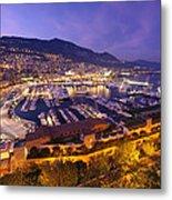 Monte Carlo Harbor  Metal Print