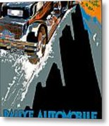 Monte Carlo Rallye Automobile Metal Print