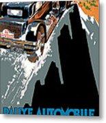 Monte Carlo - Vintage Poster Metal Print