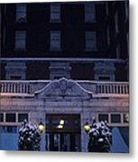 Monte Cristo Hotel Metal Print by Donald Torgerson