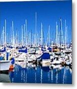 Monterey Bay Yacht Club 19704 Metal Print