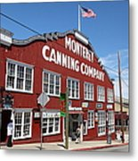 Monterey Cannery Row California 5d25045 Metal Print