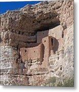 Montezuma Castle Arizona Metal Print
