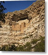Montezuma Castle National Monument Az Dsc09056 Metal Print