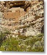 Montezumas Castle 14 Metal Print