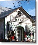 Montgomery County Market Metal Print