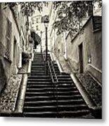 Montmartre Mono 01 Metal Print