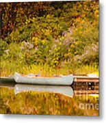 Montpelier Canoe Metal Print