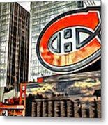 Montreal C Metal Print