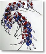 Montreal Canadiens V New Jersey Devils Metal Print
