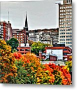 Montreal City Colors Metal Print