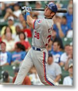 Montreal Expos V Chicago Cubs Metal Print