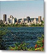 Montreal - Sur Le Fleuve  Metal Print
