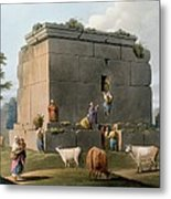 Monument Between Tripoli And Tortosa Metal Print