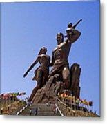 Monument De La Renaissance Africanne Metal Print