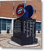 Monument For The Montreal Canadiens Metal Print