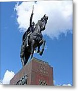 Monument Of King Tomislav Metal Print by Borislav Marinic