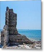 Monument Ruins Metal Print