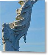 Monument To The Immigrants Statue 4 Metal Print