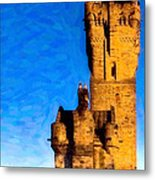 Monument To The Legendary William Wallace Metal Print