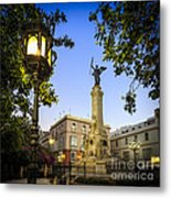 Monument To The Marquis Of Comillas Cadiz Spain Metal Print