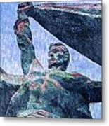 Monument To The People 0131 - 2 Sl Metal Print