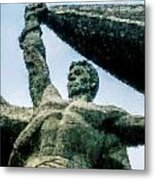 Monument To The People 0131 - Watercolor 1 Metal Print