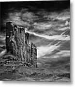 Monument Valley 011 Metal Print