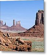 Monument Valley 10 Metal Print