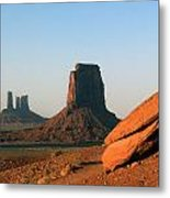 Monument Valley Afternoon Metal Print