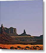 Monument Valley - An Iconic Landmark Metal Print by Christine Till