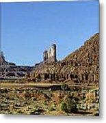 Monument Valley Arizona State Usa Metal Print