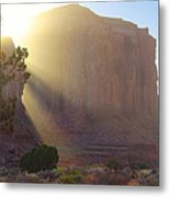 Monument Valley At Sunset 2 Metal Print
