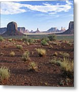 Monument Valley From North Window Metal Print