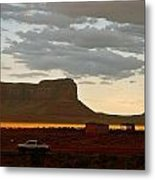Monument Valley Glow 1 Metal Print