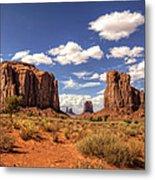 Monument Valley - North Window Overlook  Metal Print