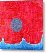 Monument Valley Original Painting Metal Print