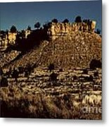 Monument Valley Region-arizona V3 Metal Print