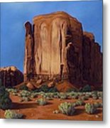 Monument Valley- Sunlit Metal Print