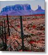 Monument Valley -utah V13 Metal Print